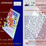 mostra libri poesia concreta e visiva a cura di Calogero Barba