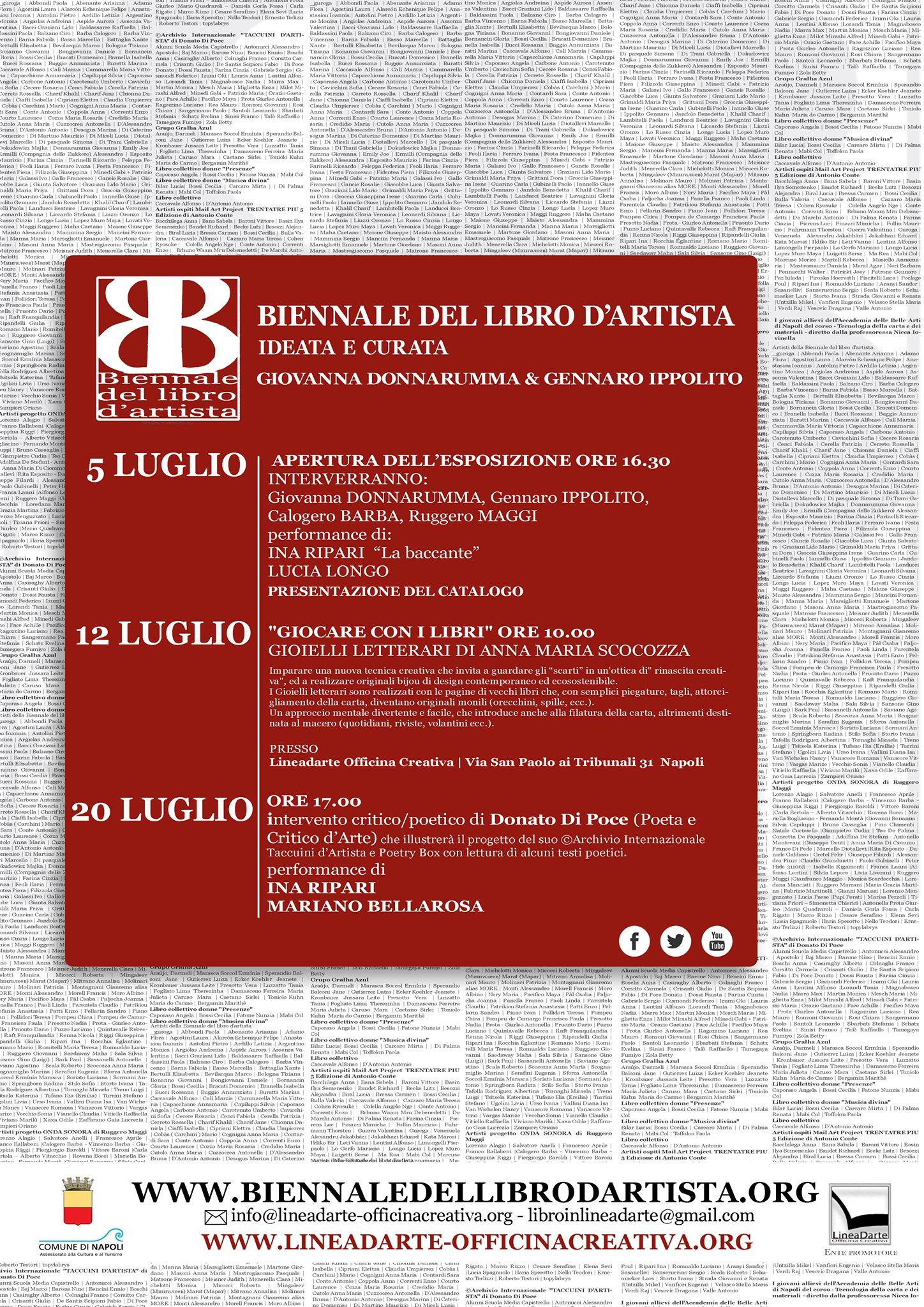 5 biennale del Libro d'artista Napoli